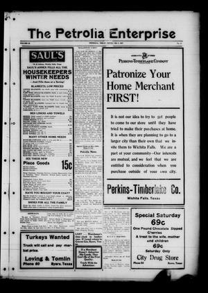 The Petrolia Enterprise (Petrolia, Tex.), Vol. 22, No. 44, Ed. 1 Thursday, November 3, 1927