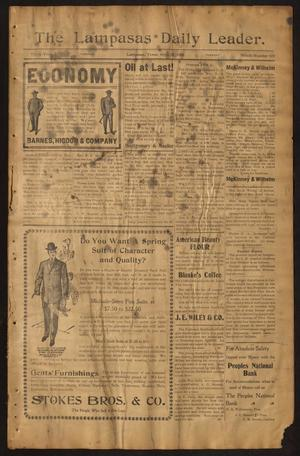 Primary view of object titled 'The Lampasas Daily Leader. (Lampasas, Tex.), Vol. 3, No. 659, Ed. 1 Tuesday, April 24, 1906'.
