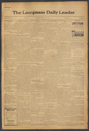 Primary view of object titled 'The Lampasas Daily Leader (Lampasas, Tex.), Vol. 29, No. 104, Ed. 1 Wednesday, July 6, 1932'.