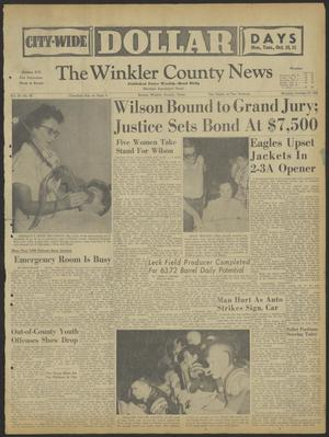 Primary view of object titled 'The Winkler County News (Kermit, Tex.), Vol. 24, No. 46, Ed. 1 Monday, October 10, 1960'.