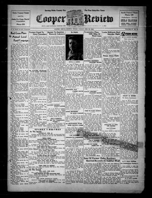 Primary view of object titled 'Cooper Review (Cooper, Tex.), Vol. 67, No. 8, Ed. 1 Friday, February 22, 1946'.