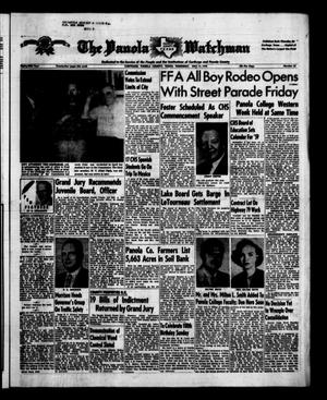 Primary view of object titled 'The Panola Watchman (Carthage, Tex.), Vol. 85, No. 23, Ed. 1 Thursday, May 15, 1958'.