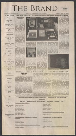 The Brand (Abilene, Tex.), Vol. 97, No. 10, Ed. 1 Tuesday, February 24, 2009