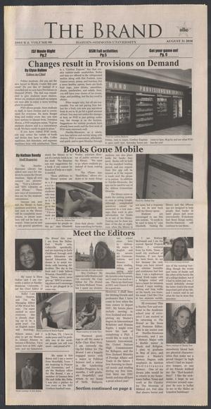 The Brand (Abilene, Tex.), Vol. 99, No. 2, Ed. 1 Tuesday, August 31, 2010