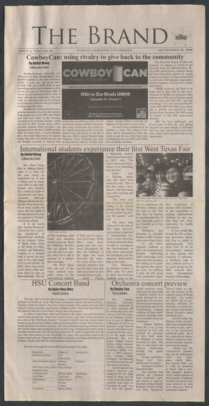The Brand (Abilene, Tex.), Vol. 98, No. 4, Ed. 1 Tuesday, September 29, 2009