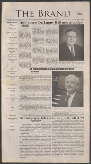 The Brand (Abilene, Tex.), Vol. 97, No. 11, Ed. 1 Tuesday, March 17, 2009