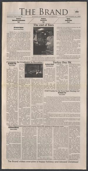 The Brand (Abilene, Tex.), Vol. 98, No. 8, Ed. 1 Tuesday, November 24, 2009