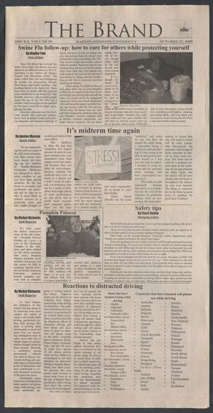 Primary view of object titled 'The Brand (Abilene, Tex.), Vol. 98, No. 6, Ed. 1 Tuesday, October 27, 2009'.