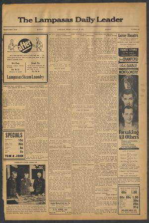 Primary view of object titled 'The Lampasas Daily Leader (Lampasas, Tex.), Vol. 31, No. 265, Ed. 1 Monday, January 14, 1935'.