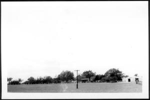 Primary view of object titled '[A large field at George Ranch]'.