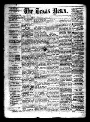 Primary view of object titled 'The Texas News. (Bonham, Tex.), Vol. 3, No. 25, Ed. 1 Saturday, March 20, 1869'.