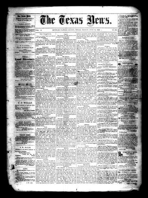 Primary view of object titled 'The Texas News. (Bonham, Tex.), Vol. 3, No. 39, Ed. 1 Friday, June 25, 1869'.