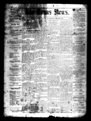 Primary view of object titled 'The Texas News. (Bonham, Tex.), Vol. 3, No. 19, Ed. 1 Saturday, February 6, 1869'.