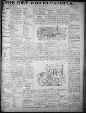 Primary view of object titled 'Fort Worth Gazette. (Fort Worth, Tex.), Vol. 17, No. 166, Ed. 1, Monday, May 1, 1893'.