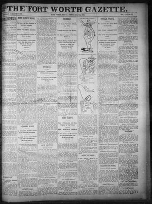 Primary view of object titled 'Fort Worth Gazette. (Fort Worth, Tex.), Vol. 17, No. 191, Ed. 1, Friday, May 26, 1893'.
