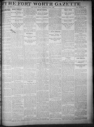 Primary view of object titled 'Fort Worth Gazette. (Fort Worth, Tex.), Vol. 17, No. 203, Ed. 1, Wednesday, June 7, 1893'.