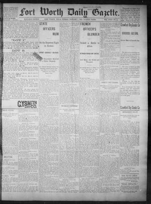 Primary view of object titled 'Fort Worth Daily Gazette. (Fort Worth, Tex.), Vol. 18, No. 45, Ed. 1, Sunday, January 7, 1894'.