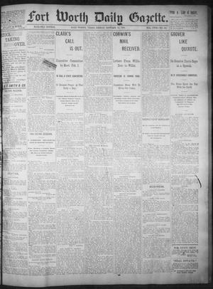 Primary view of object titled 'Fort Worth Daily Gazette. (Fort Worth, Tex.), Vol. 18, No. 50, Ed. 1, Friday, January 12, 1894'.