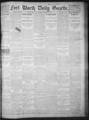 Primary view of object titled 'Fort Worth Daily Gazette. (Fort Worth, Tex.), Vol. 18, No. 70, Ed. 1, Thursday, February 1, 1894'.