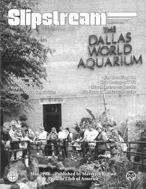 Slipstream, Volume 36, Issue 5, May 1998