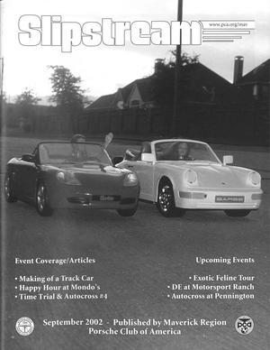 Slipstream, Volume 40, Issue 9, September 2002