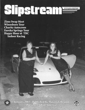 Slipstream, Volume 41, Issue 1, January 2003
