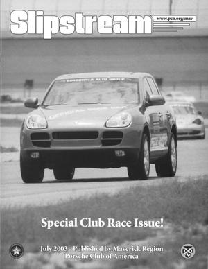 Slipstream, Volume 46, Issue 7, July 2003
