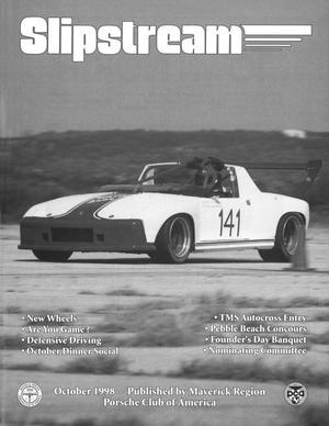 Slipstream, Volume 36, Issue 10, October 1998