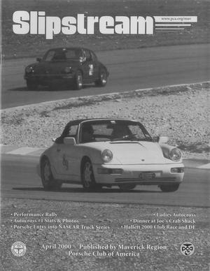 Slipstream, Volume 38, Issue 4, April 2000