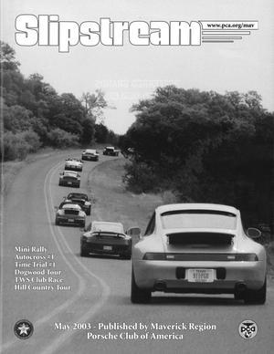 Slipstream, Volume 45, Issue 5, May 2003