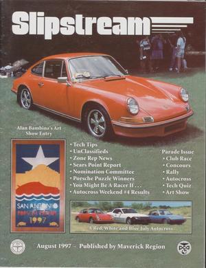 Slipstream, Volume 35, Issue 8, August 1997
