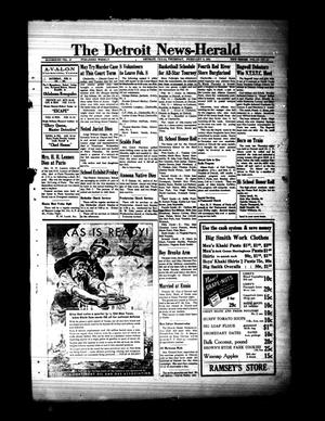 Primary view of object titled 'The Detroit News-Herald (Detroit, Tex.), Vol. 13, No. 44, Ed. 1 Thursday, February 6, 1941'.
