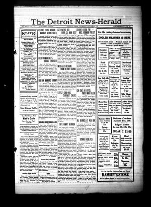 Primary view of The Detroit News-Herald (Detroit, Tex.), Vol. 8, No. 26, Ed. 1 Thursday, October 3, 1935