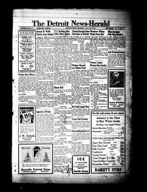 Primary view of object titled 'The Detroit News-Herald (Detroit, Tex.), Vol. 13, No. 39, Ed. 1 Thursday, January 2, 1941'.