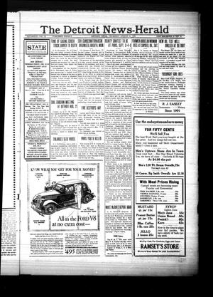 Primary view of object titled 'The Detroit News-Herald (Detroit, Tex.), Vol. 8, No. 19, Ed. 1 Thursday, August 15, 1935'.