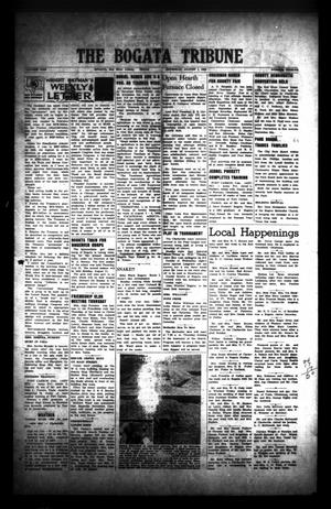 Primary view of object titled 'The Bogata Tribune (Bogata, Tex.), Vol. 1, No. 12, Ed. 1 Thursday, August 7, 1958'.