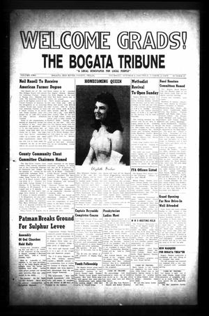 Primary view of object titled 'The Bogata Tribune (Bogata, Tex.), Vol. 2, No. 21, Ed. 1 Thursday, October 8, 1959'.