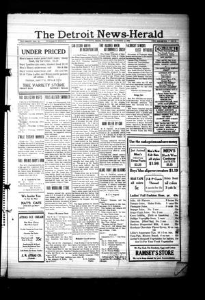 Primary view of object titled 'The Detroit News-Herald (Detroit, Tex.), Vol. 7, No. 28, Ed. 1 Thursday, October 11, 1934'.