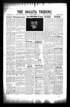 Primary view of object titled 'The Bogata Tribune (Bogata, Tex.), Vol. 1, No. 20, Ed. 1 Thursday, October 2, 1958'.