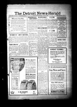 Primary view of object titled 'The Detroit News-Herald (Detroit, Tex.), Vol. 6, No. [18], Ed. 1 Thursday, August 3, 1933'.