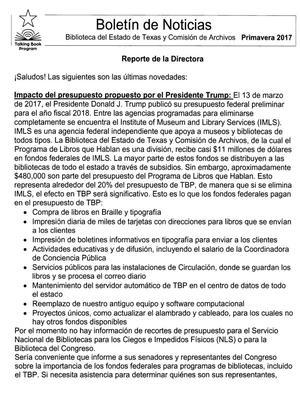 Primary view of Boletín de Noticias, 2017-21