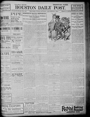 Primary view of object titled 'The Houston Daily Post (Houston, Tex.), Vol. TWELFTH YEAR, No. 246, Ed. 1, Sunday, December 6, 1896'.