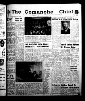 Primary view of object titled 'The Comanche Chief (Comanche, Tex.), Vol. 91, No. 25, Ed. 1 Friday, December 13, 1963'.