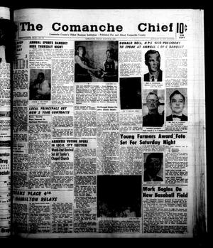 Primary view of object titled 'The Comanche Chief (Comanche, Tex.), Vol. 89, No. 38, Ed. 1 Friday, March 15, 1963'.