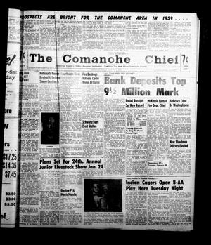 Primary view of object titled 'The Comanche Chief (Comanche, Tex.), Vol. 86, No. 28, Ed. 1 Friday, January 9, 1959'.