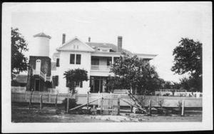 [The George Ranch house from an east approach]