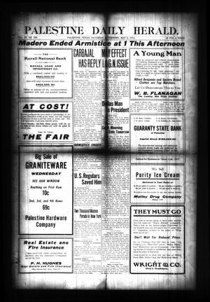 Palestine Daily Herald. (Palestine, Tex), Vol. 9, No. 230, Ed. 1 Saturday, May 6, 1911