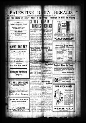 Palestine Daily Herald. (Palestine, Tex), Vol. 9, No. 266, Ed. 1 Saturday, June 17, 1911