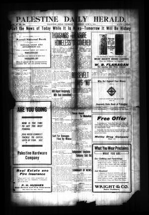 Palestine Daily Herald. (Palestine, Tex), Vol. 9, No. 258, Ed. 1 Thursday, June 8, 1911