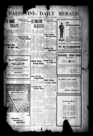 Palestine Daily Herald. (Palestine, Tex), Vol. 10, No. 94, Ed. 1 Friday, December 1, 1911